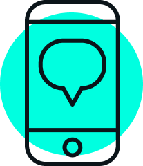 text message icon