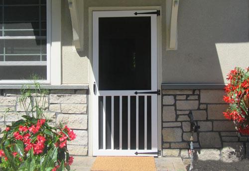 Vinyl Window Wells Screen Doors