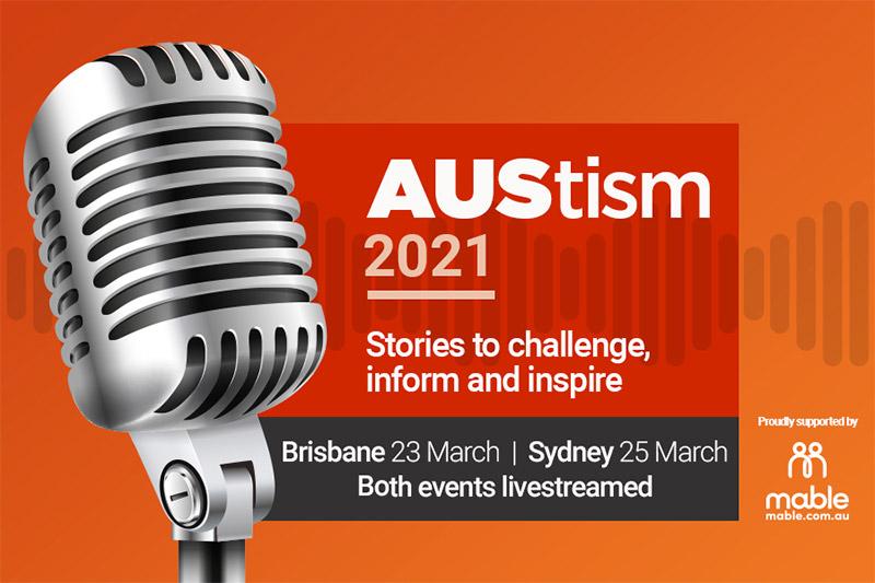 AUStism 2021 logo