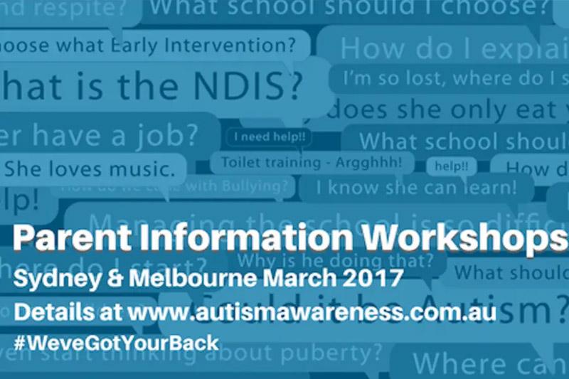 Parent info workshop logo