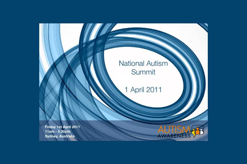 National Autism summit logo