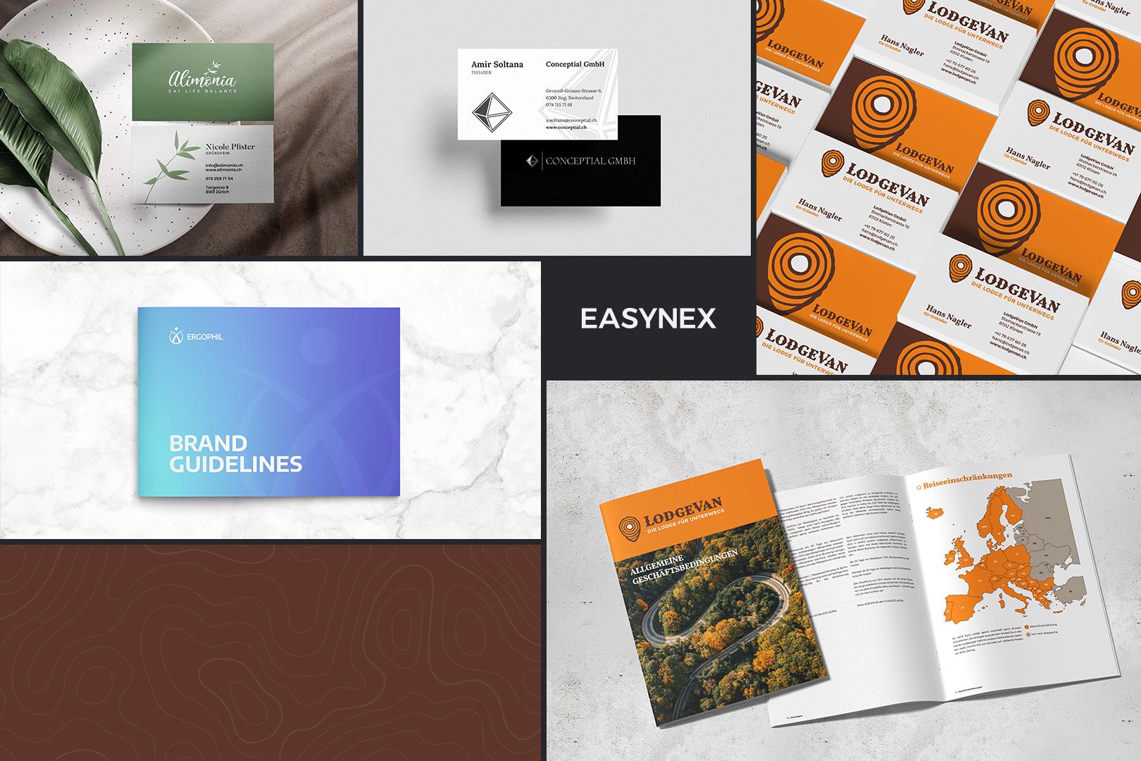 Logo und Visitenkarten mit CI