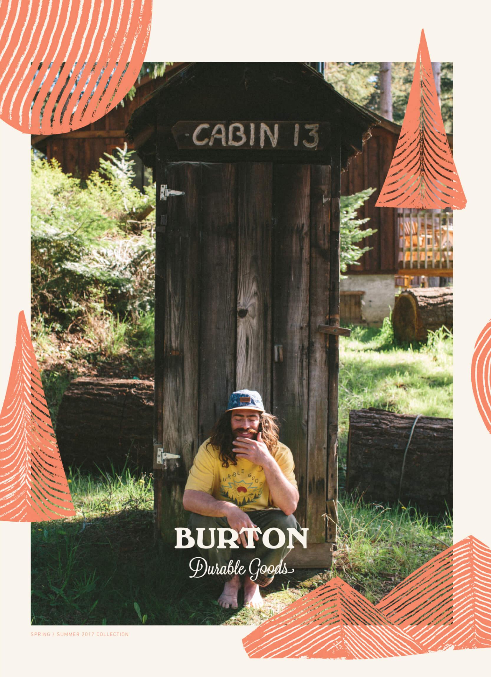 Burton Snowboards Spring Summer Catalog cover