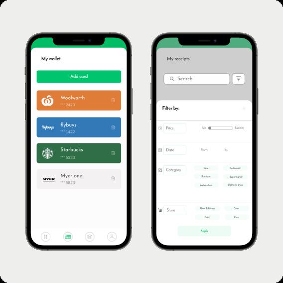 1receipt app