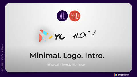 Branding your videos with a quick and elegant logo reveal is a must for any business.   Use this logo intro to:  Increase brand awareness Add a professional touch to your videos Set the stage with your unique tagline