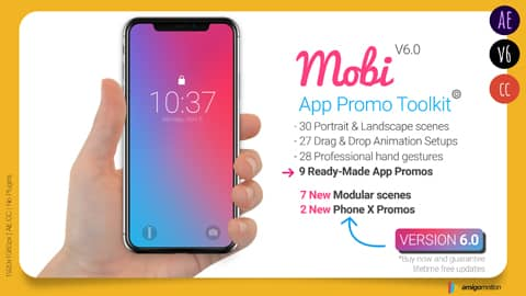 You want more people to download your app, but first they need to know about it and what it does. Mobi help you create a proffesional app promo video for your app.