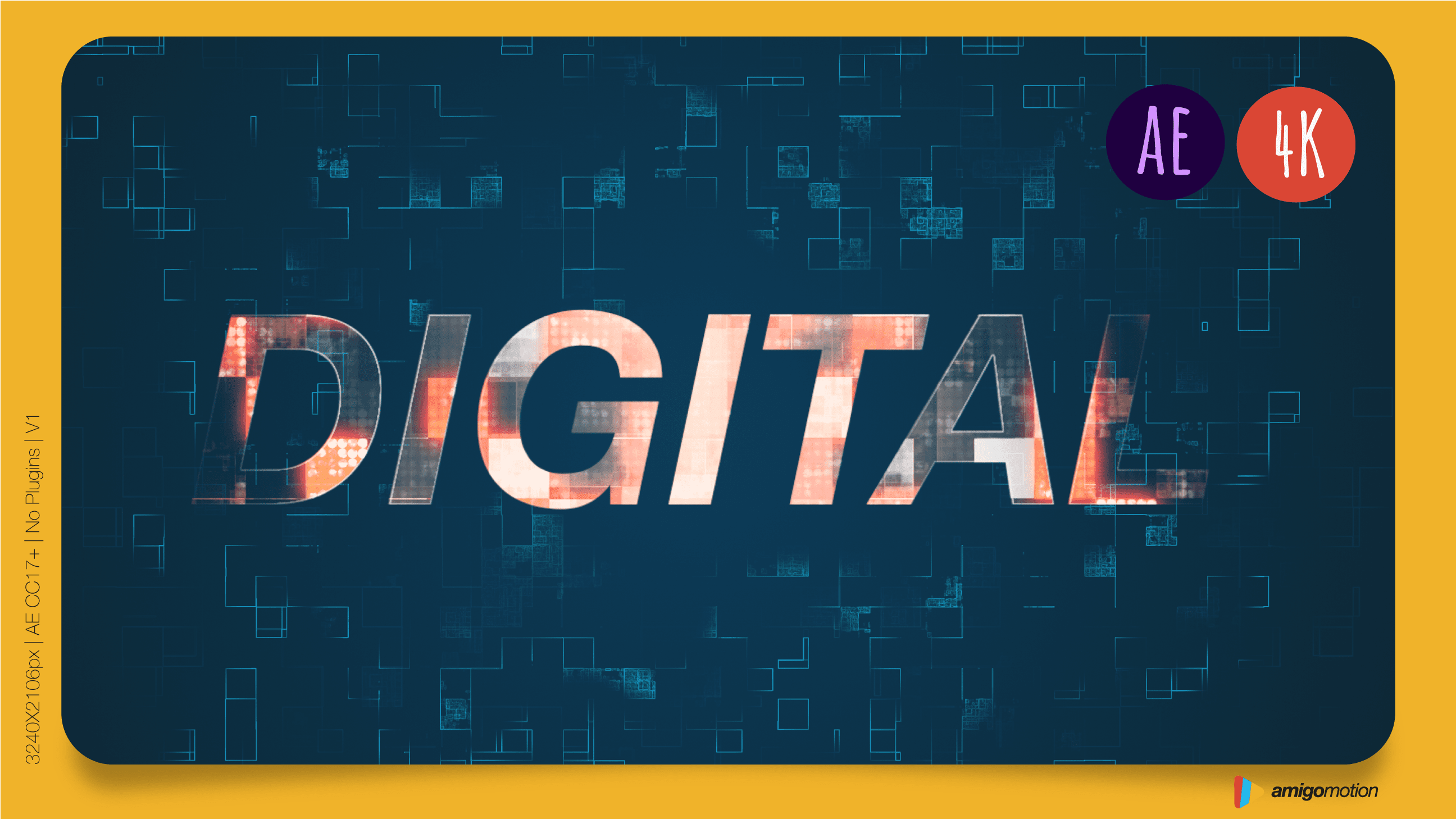 Introduce your digital logo in a powerful and epic way. Perfect for startups, products, tech. Insert your logo, add your music, and export the video.