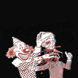 Alien Caged Clowns In 3D!