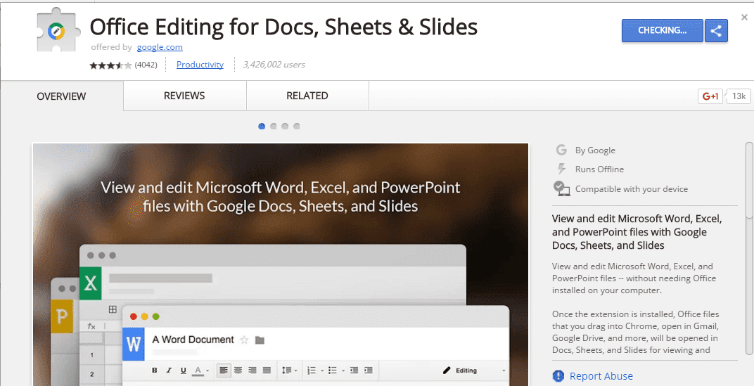 collaborate Microsoft Word with Google Docs
