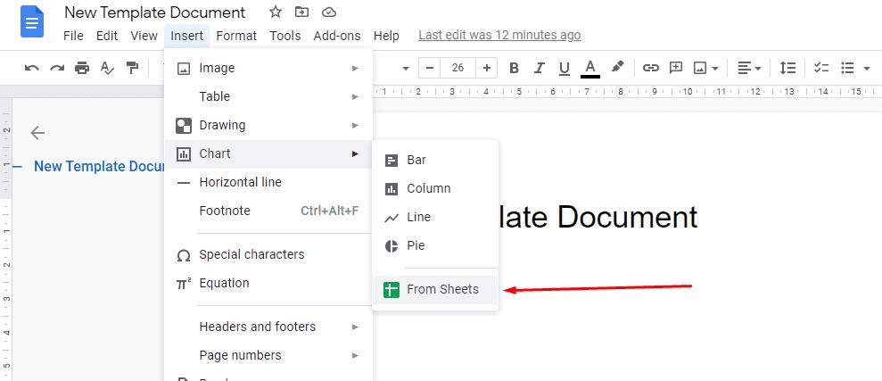 integrating google docs and google sheets