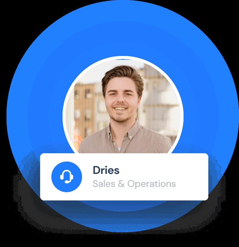Dries Hendrickx: Sales & Operations