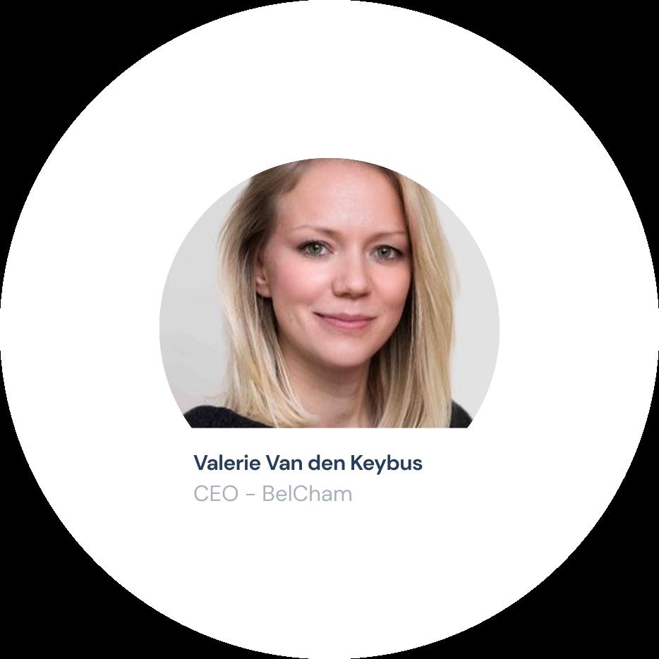 Valerie Van Den Keybus: CEO - Belcham