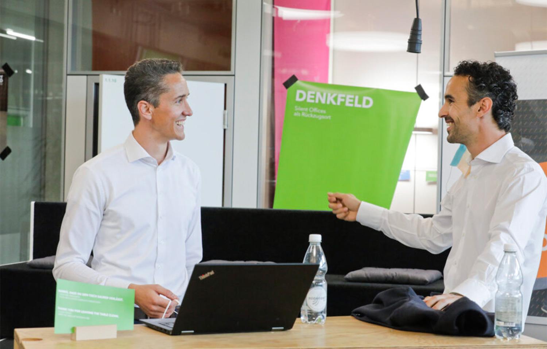 Dario Dornbierer and Sascha Fritsche founding Galventa AG in 2018