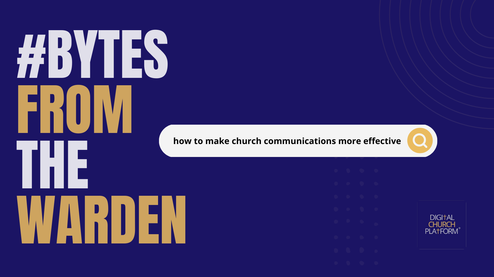 Making Church Communications More Effective