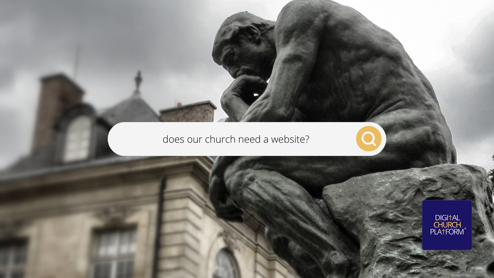 Three Reasons Your Church Needs A Website