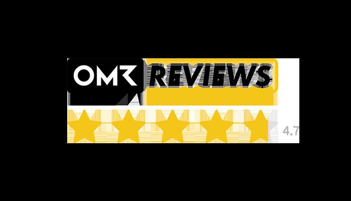 OMR reviews logo 4.7/5