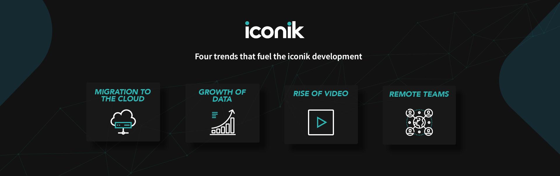 Market trends behind iconik