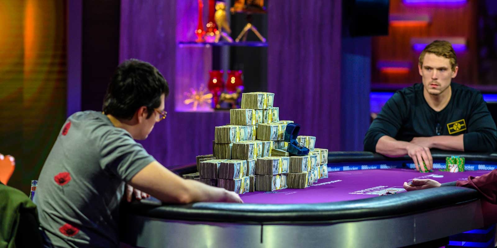 Live poker events