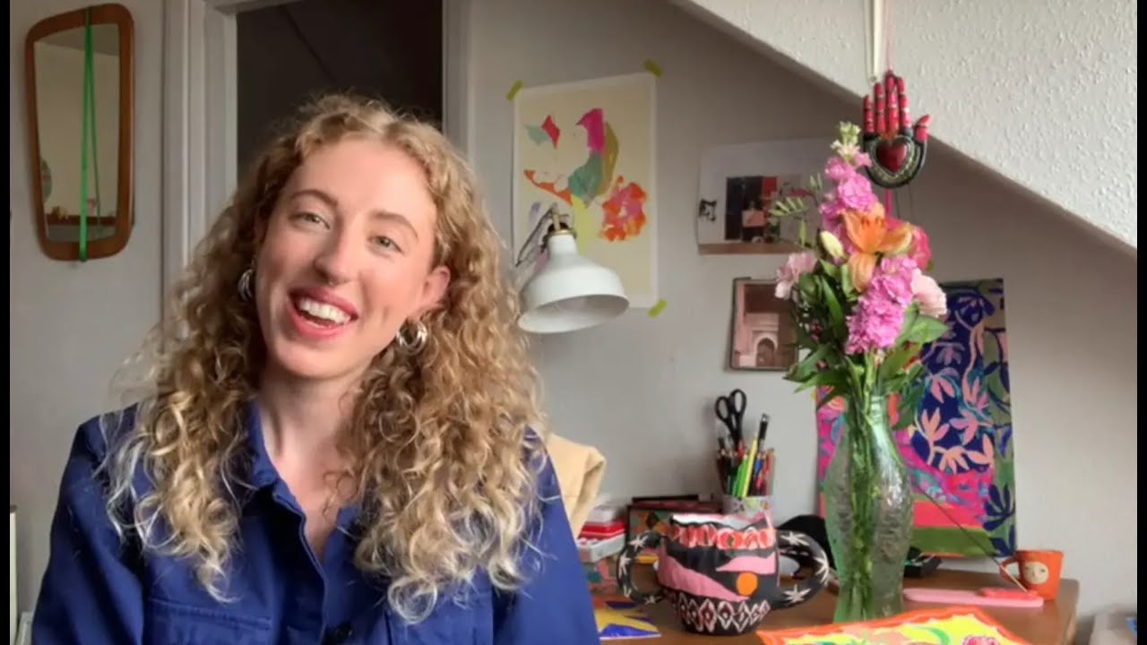 Artist Claire Sherston will take you through an art tutorial in celebration of Spring Flowers.