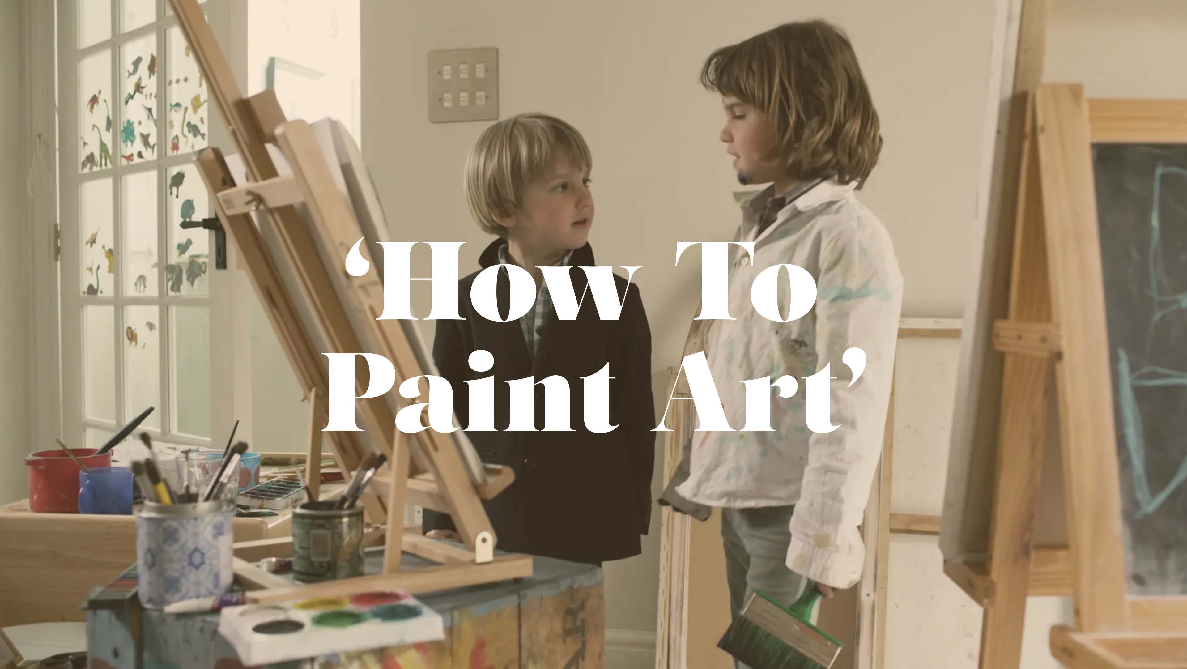 We are excited to present 'How To Paint' - the first of our 'How To' series with the Laroche Brothers.