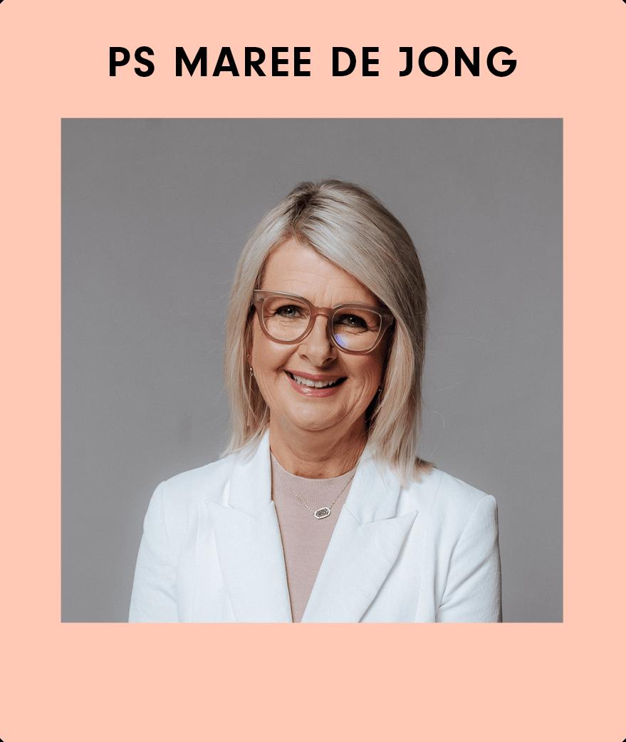 Speaker Maree de Jong