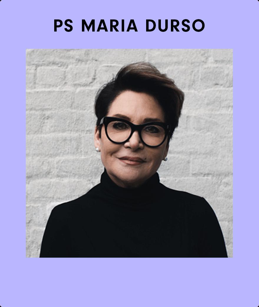Speaker Maria Durso