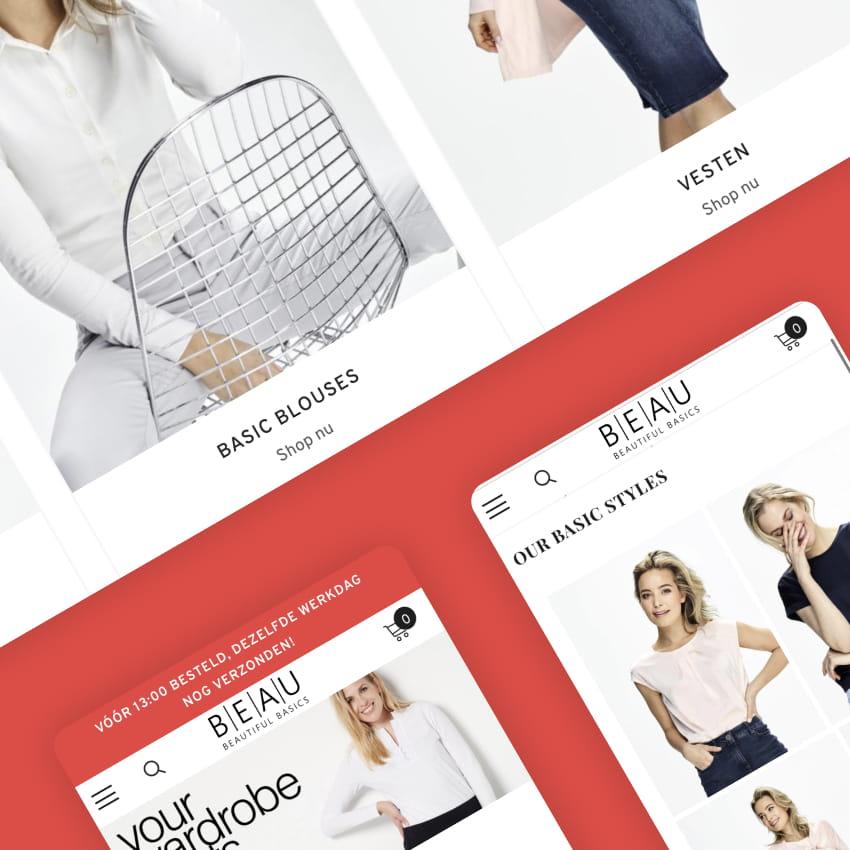 Shopify Webshop Development and Migration