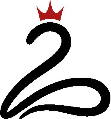Logo Queen of Second Life - Stilisierter Schwan mit Krone