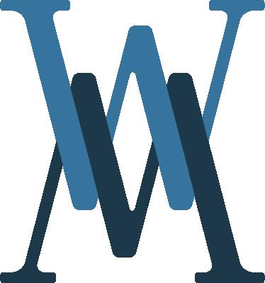 Logo Beispiel W und M