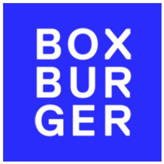Box Burger Inverted Logo