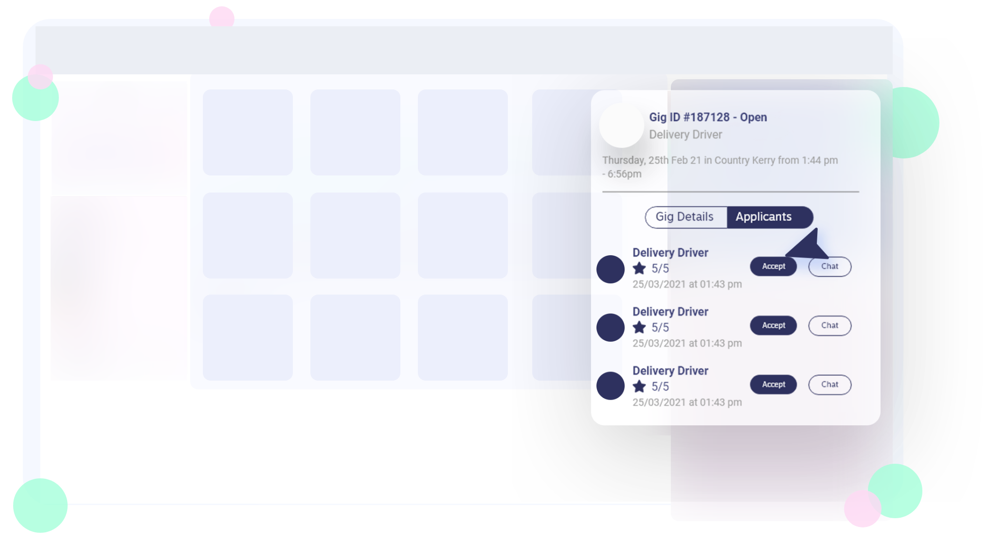 Website how it works placeholder
