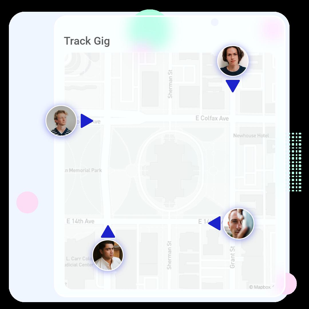 Track Freelancer Graphic