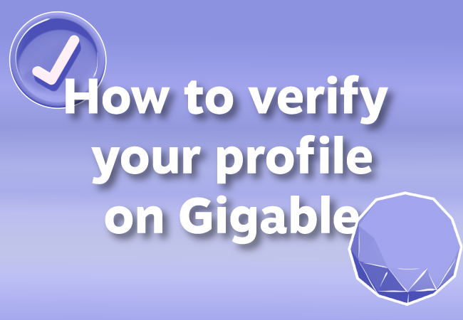 How To Verify Your Identity On Gigable