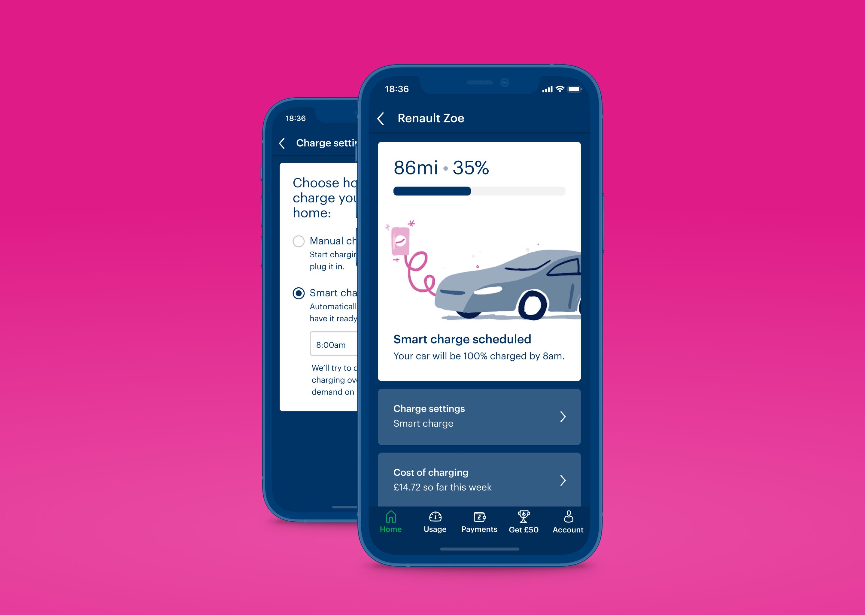 Screen shot of an app
