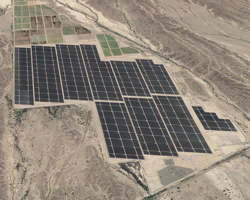 Agua Caliente Solar Plant