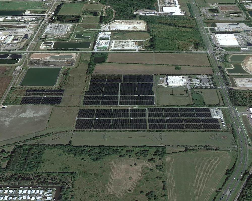 Tampa Electric Big Bend Solar Plant