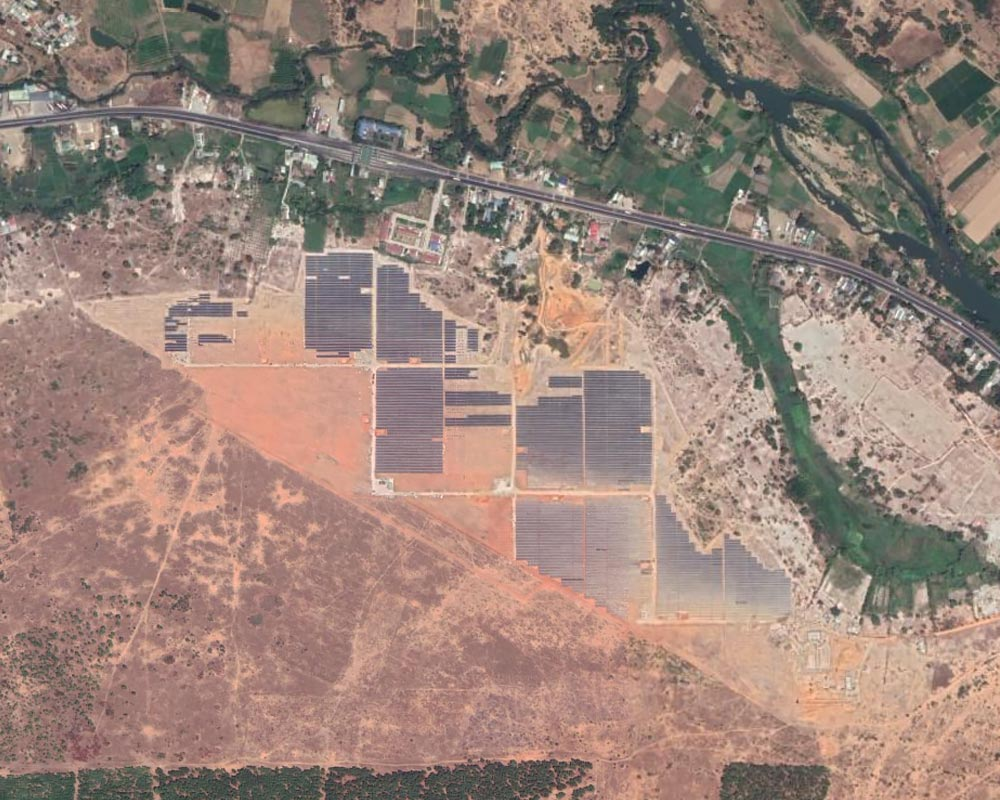 Song Luy Solar Plant