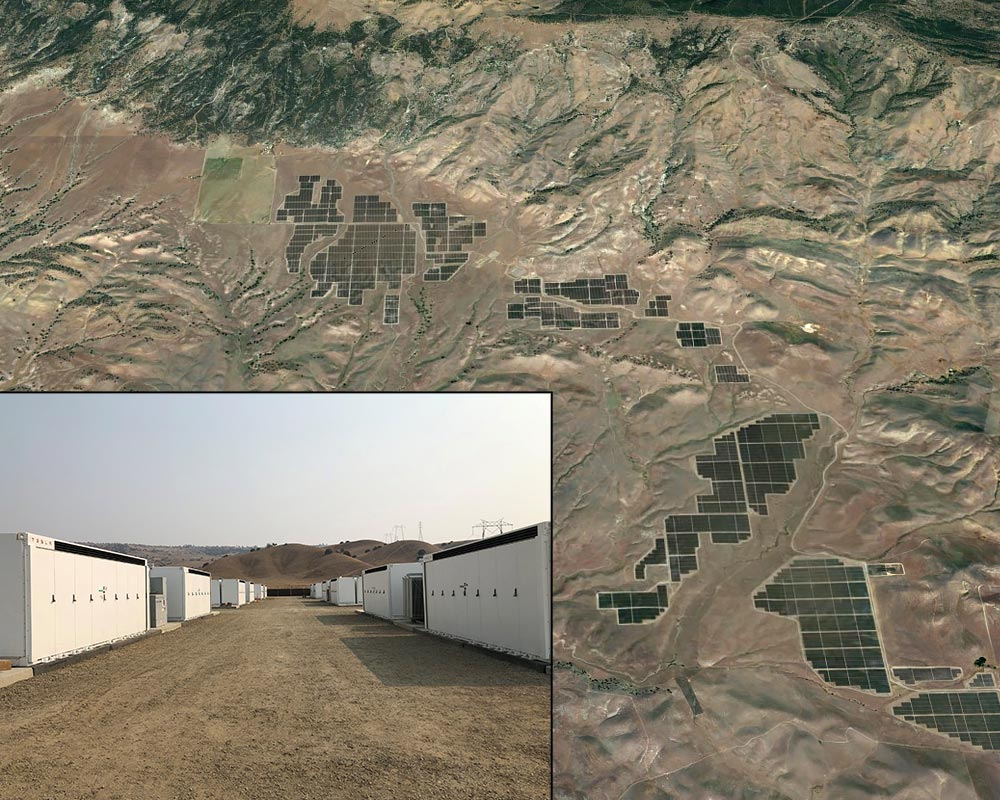 California Flats Solar Plant BESS Integration