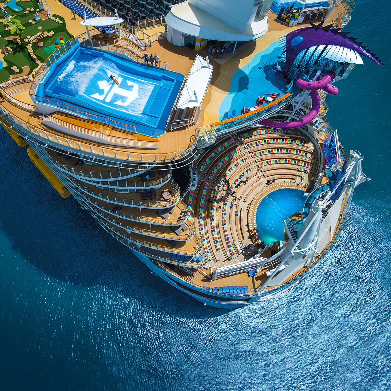Digital signage, print collateral, web pages, & email templates for Royal Caribbean, Celebrity Cruises, and Azamara