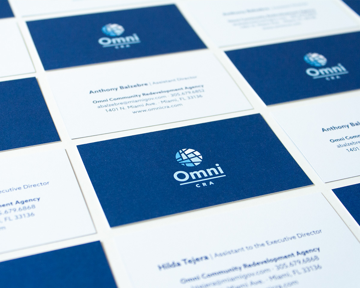 Omni CRA business cards