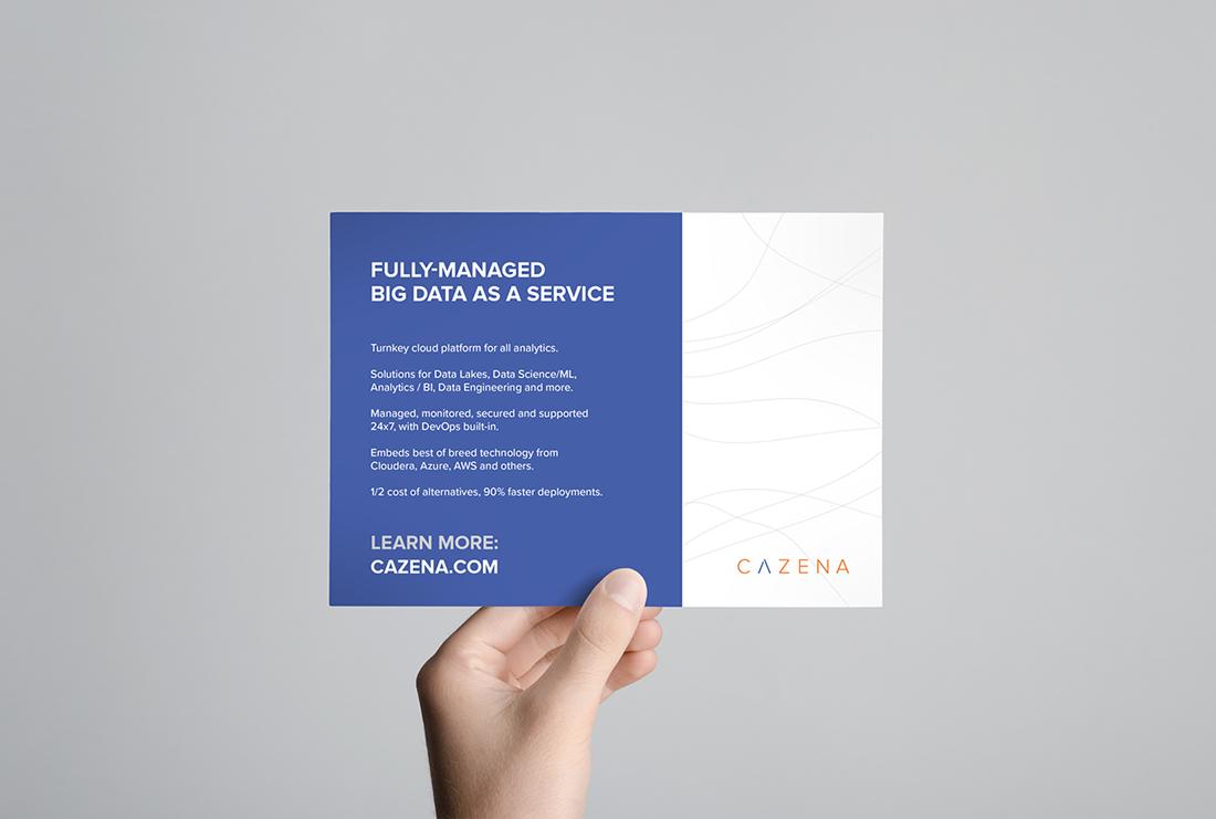 Cazena DIY Big Data postcard