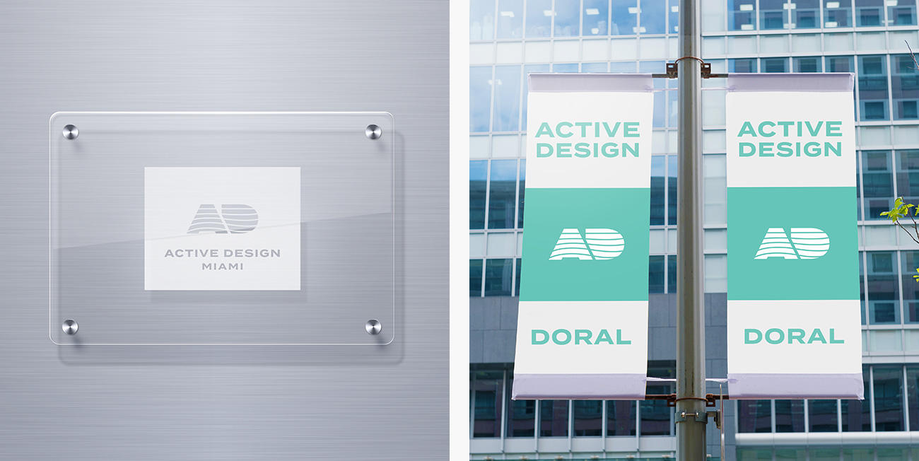 Active Design plaques and banners
