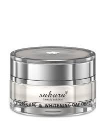 Kem dưỡng trắng da trị nám ban ngày Sakura Spots Care & Whitening day Cream