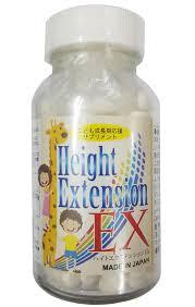 Viên uống tăng chiều cao Height-Extension EX Nhật Bản