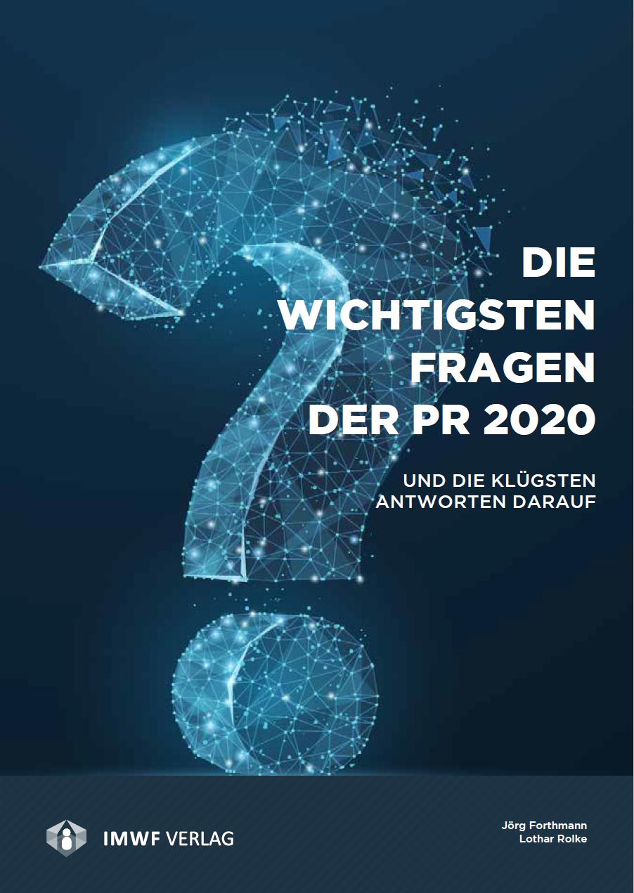 die wichtigsten fragen der PR 2020
