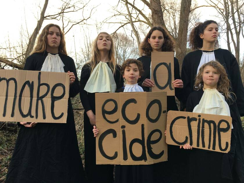 make ecocide a crime