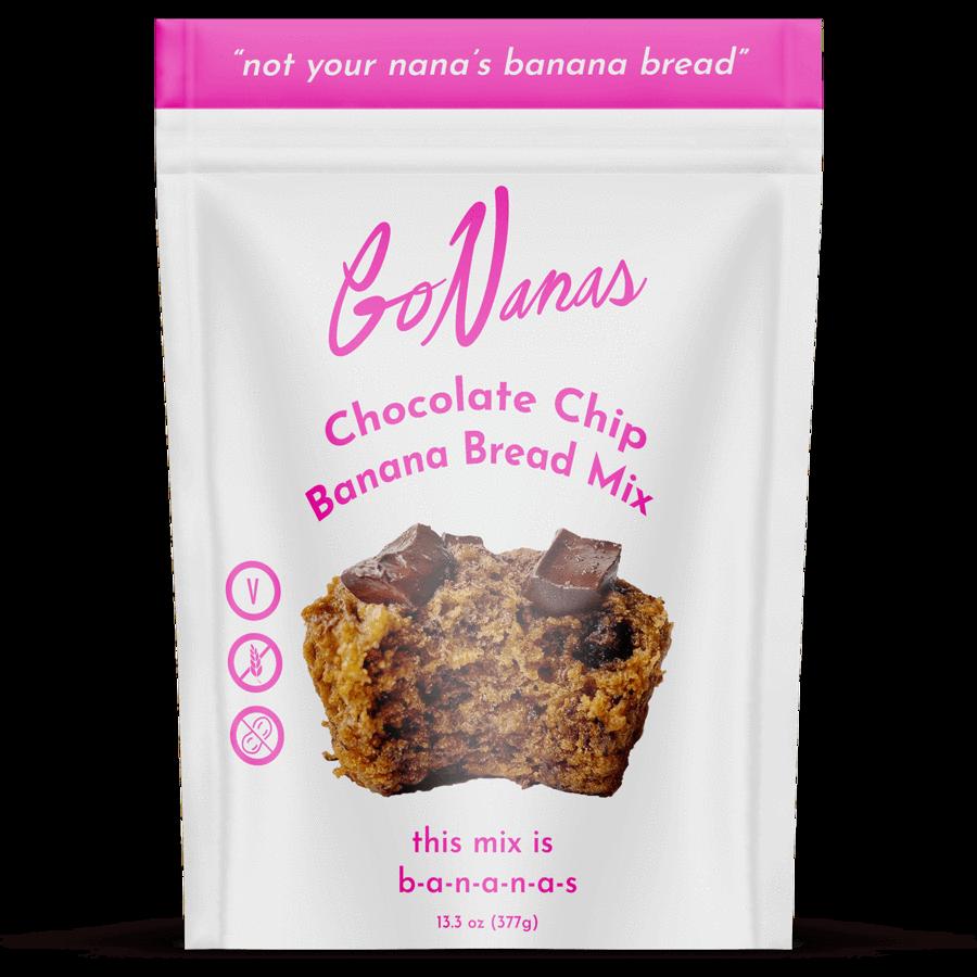 GoNananas' Chocolate Chip Banana Bread Mix