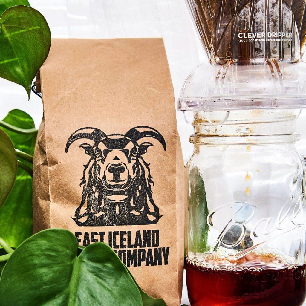 East Iceland Coffee Co.'s Ten Drops Dark Coffee