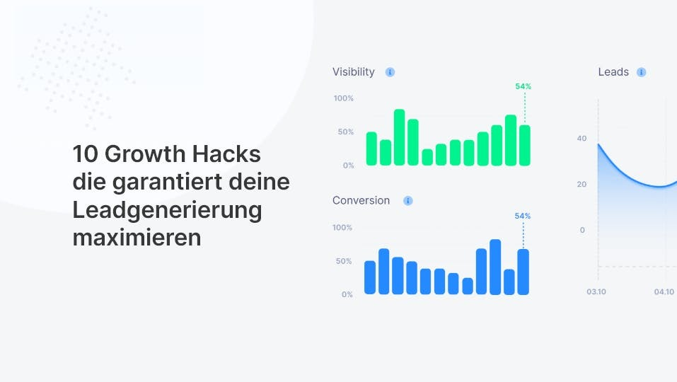 10 Growth Hacks die garantiert deine Leadgenerierung maximieren