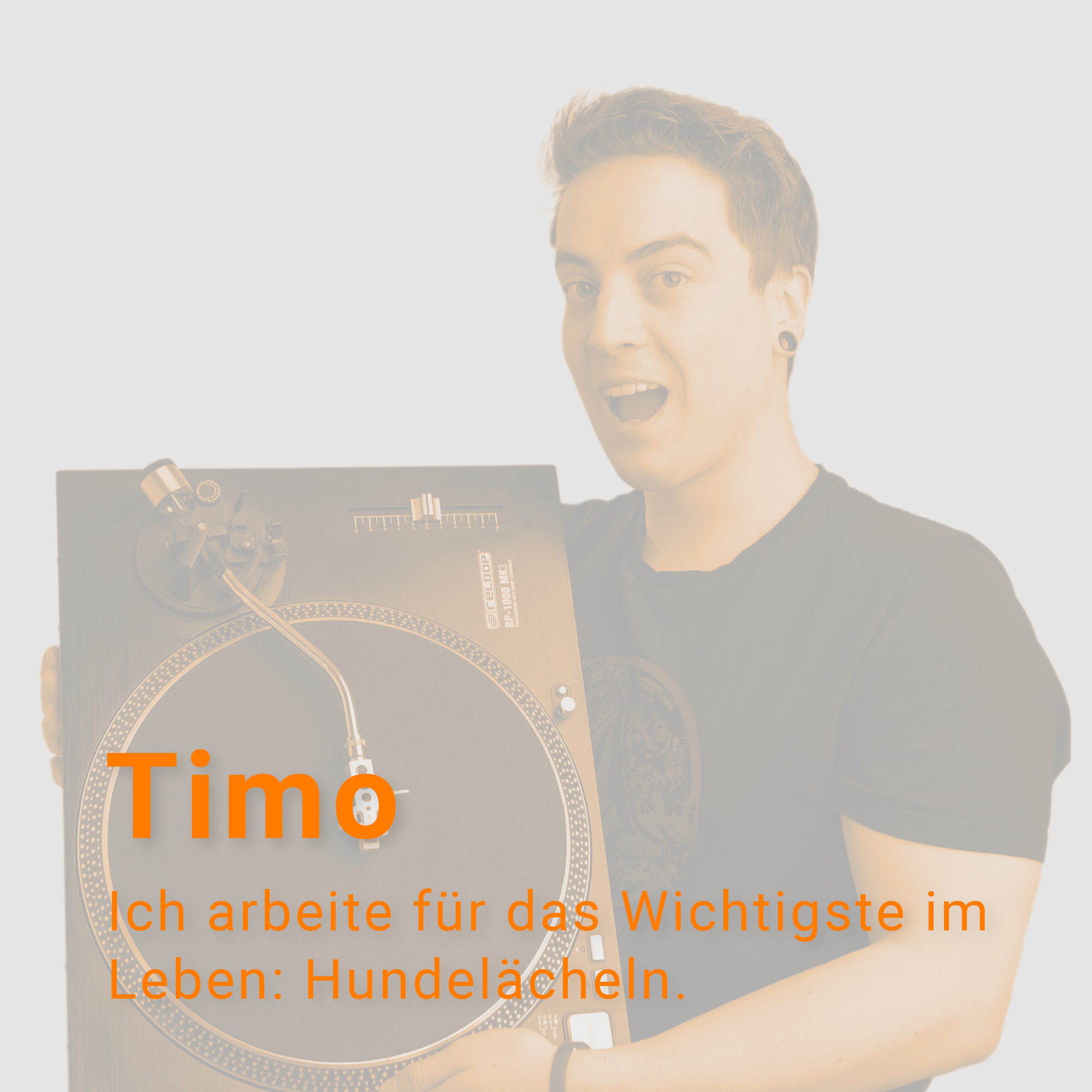 Timo Schallplattenspieler